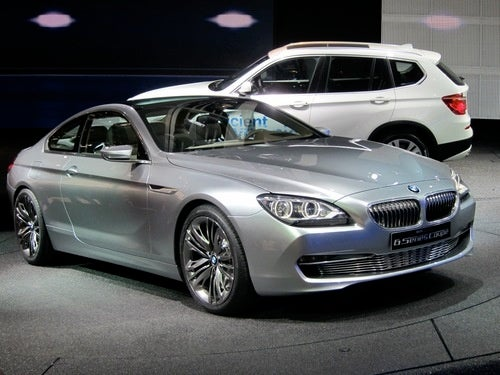 Hey Look, It's The 2012 BMW 6-Series... Concept