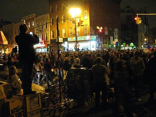 Obama Celebrations Erupt