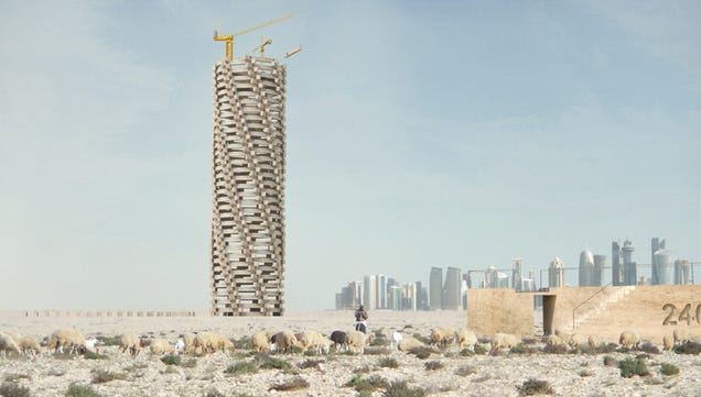 A Memorial to Qatar's World Cup Worker Deaths That Will Never Be Built