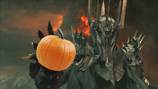 Middle-Earth apparently has a very strict 'No Pumpkin' policy