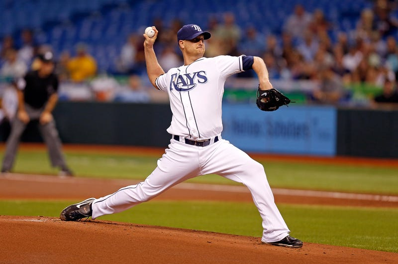 The Rays' Alex Cobb Is Having His Twitter Hacked During A Bad Start