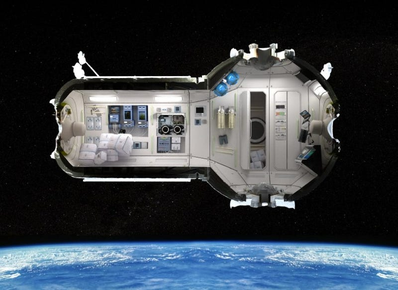 First look at the Space Hotel offers aliens aplenty, but no booze allowed