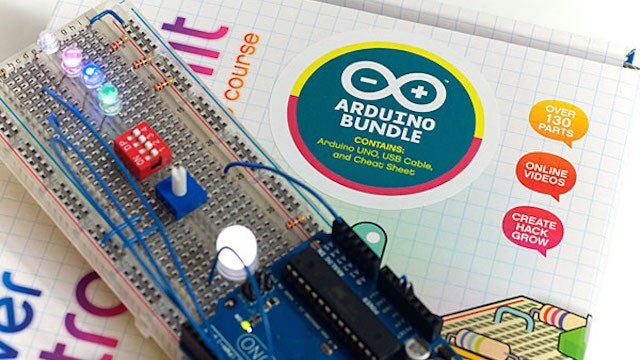 The Discovering Arduino DIY Kit Gets You Started with Electronics