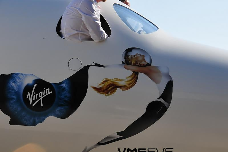 First Virgin Galactic White Knight II Photos