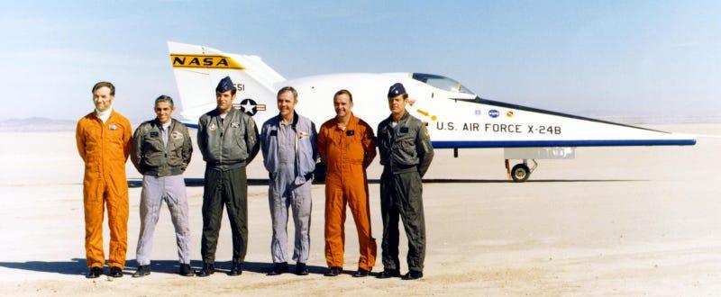 Godspeed, Bill Dana, legendary test pilot and aerospace pioneer