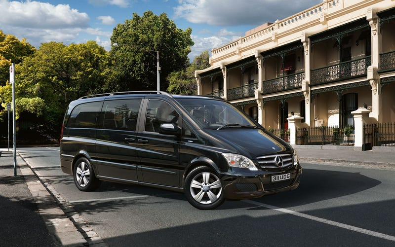 Mercedes Might Sell This RWD Luxury Minivan In America