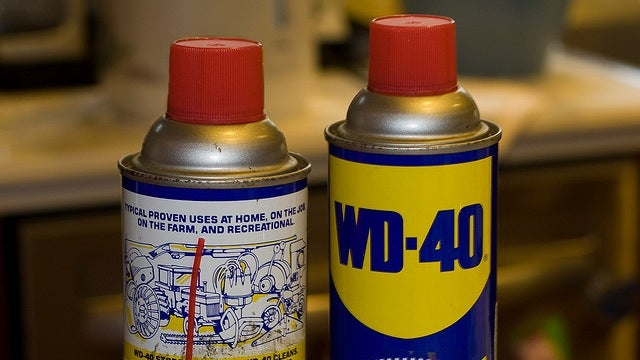 Use WD-40 to Clean and Protect Stainless Steel