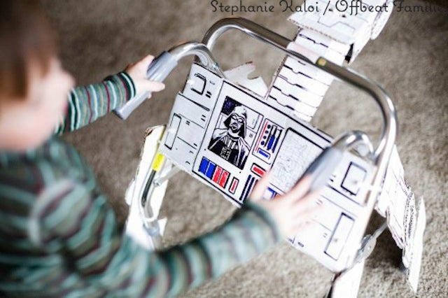 This Awesome AT-AT Walker Belongs to an Even More Awesome Four Year Old