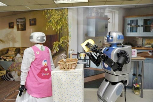 Meet Your Breakfast Companions Of The Future: Robots Who Feed You