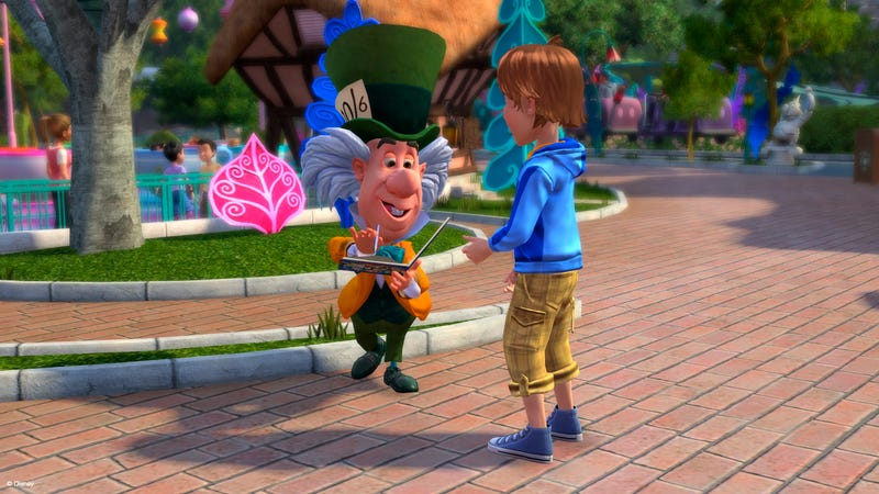 The Kinect Will Let you Get the Mad Hatter's Autograph, Starting November 15