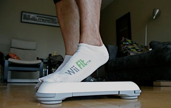Nintendo Wii Fit Here