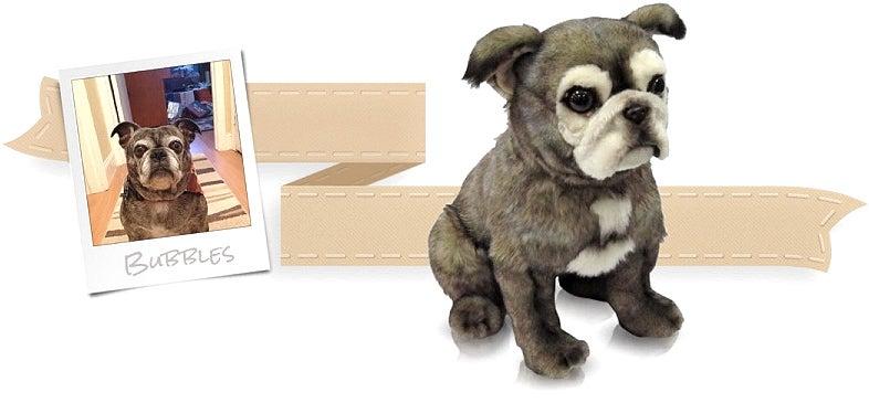 Un Clon de tu Mascota Hecho en Peluche