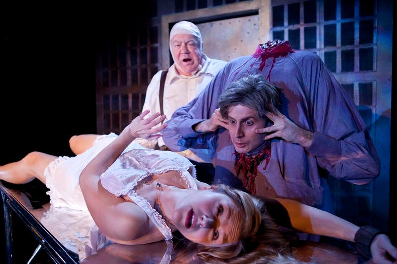 How Re-Animator: The Musical makes intestines attack people, live on stage