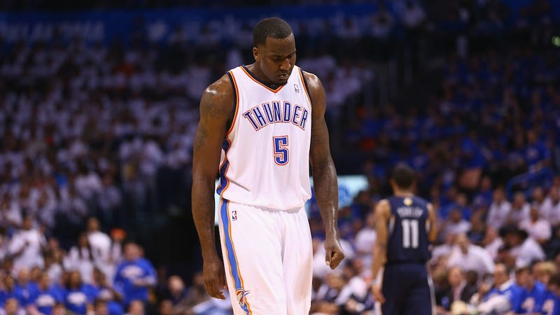 Kendrick Perkins Had A Historically Bad Playoff Run