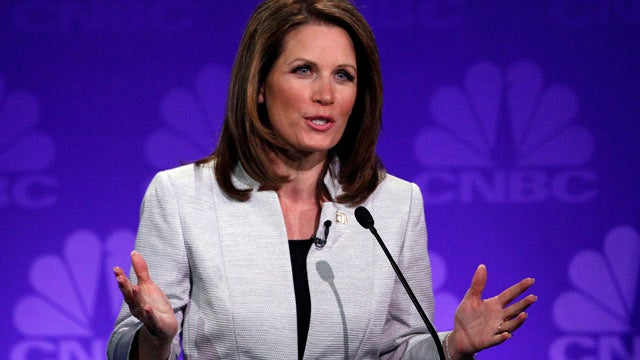 Facing Dismal Poll Numbers, Bachmann Plays The Gender Card