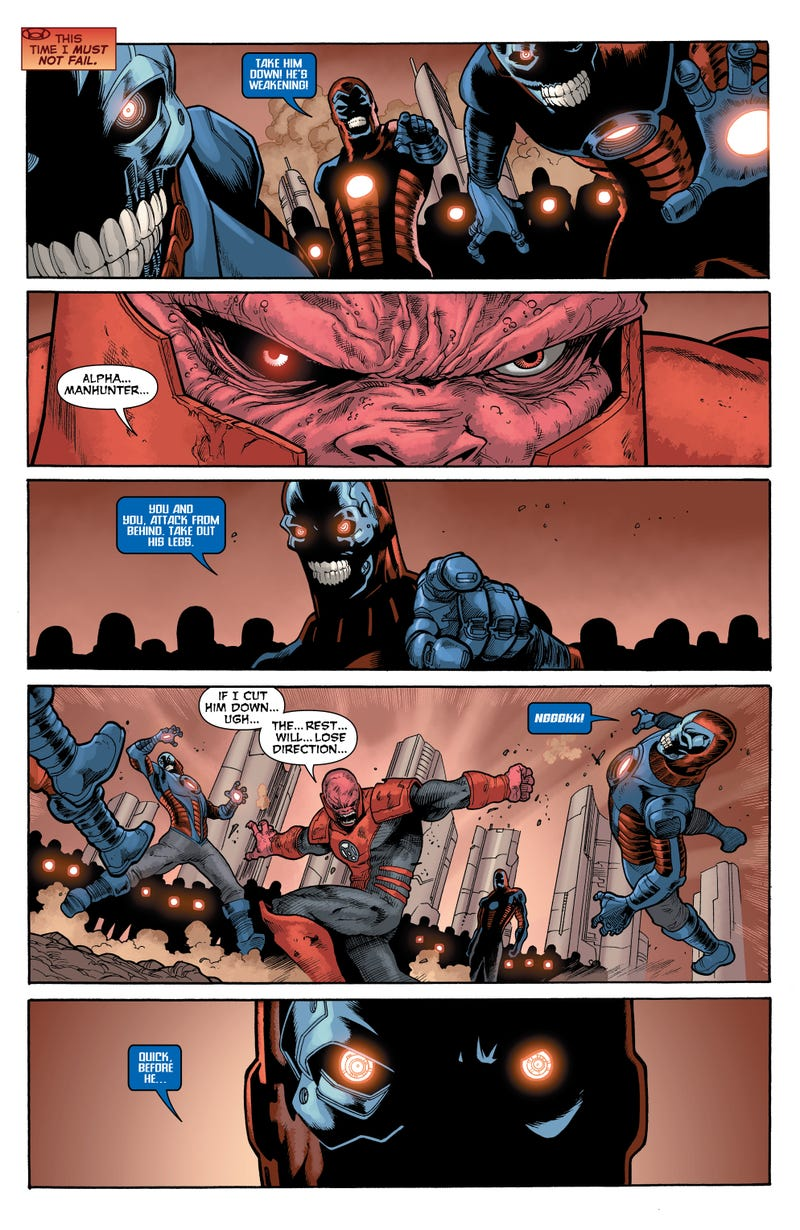 "When Atrocitus says ""Can't we all get along?"" you know things have gotten bad"