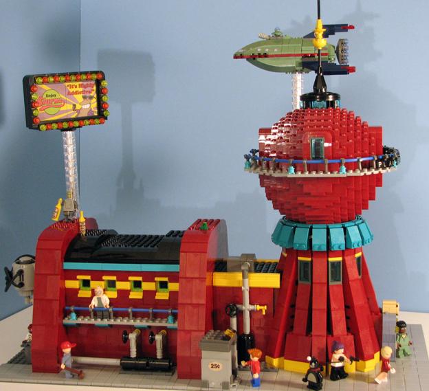 Futurama Made Out of Lego