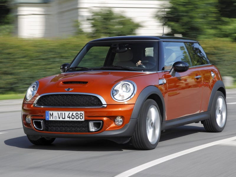 Mini Cooper S, brought to you by the letter D