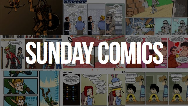 Sunday Comics: Waiting is the Hardest Part