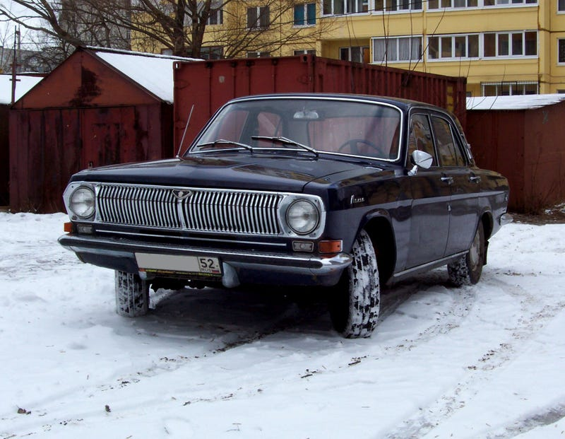 One Car Garage - GAZ Volga