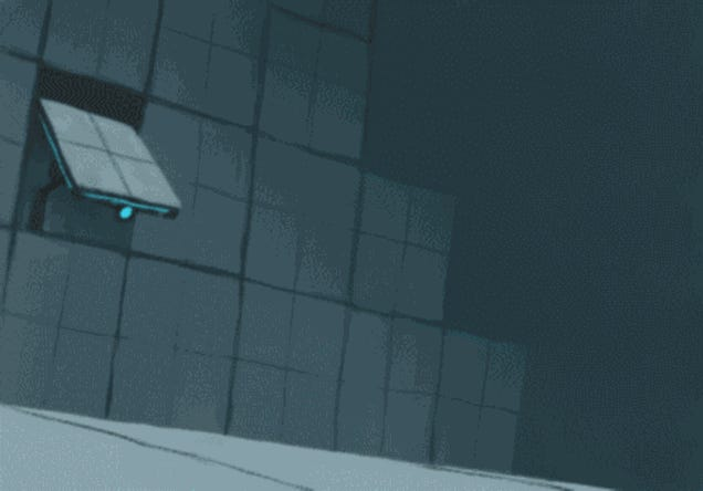 Portal, as a Very Short Cartoon (Well, gif)