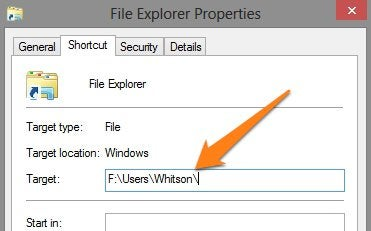 How to Change Windows Explorer's Starting Location