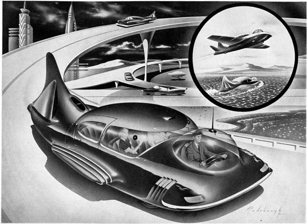 Atomic Cars of the 1950s