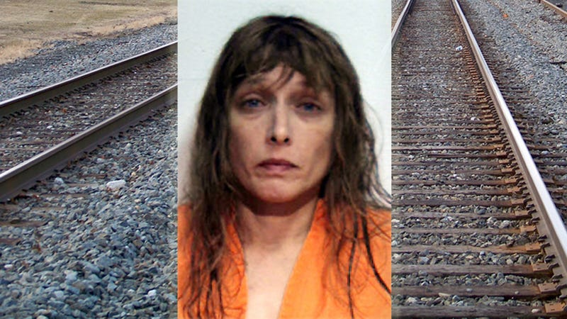 Woman Parks Car On Train Tracks Because She Hates Train Whistles
