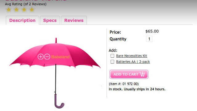 It's Really Too Bad that the Umbrella Vibrator Is Not Real (Yet)