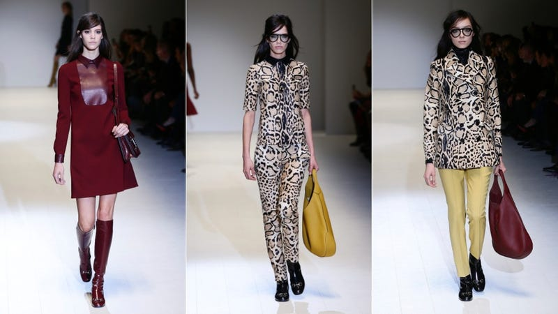 Gucci, for the Sweet, Sexy Swinging '60s Miss Moneypenny in You