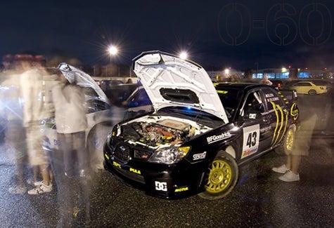Troublemakers! Block and Scotto Crash Subaru Show