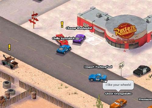 Disney's World Of Cars Online Won't Let Me Be Car 69