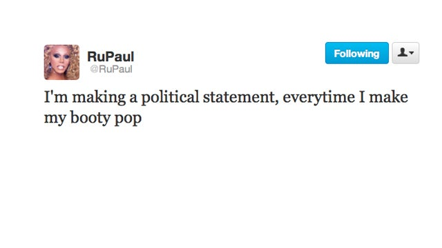 RuPaul Knows How to Make a Political Statement