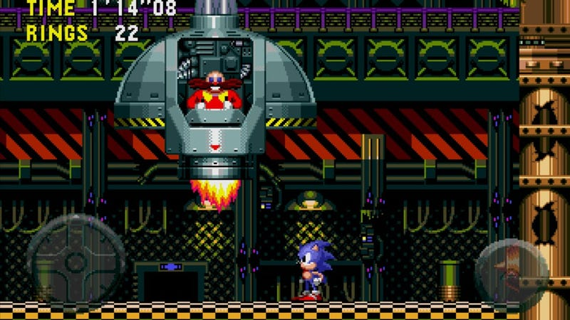 Sonic CD Comes Early to GameStop Tablet Customers