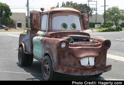 Cars 2 Hick Truck Gets Voice Today