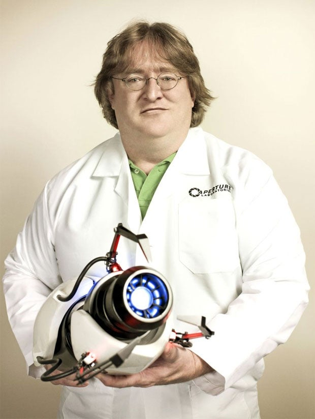 Gabe Newell Has Never Meant Business Like He Means Business Here