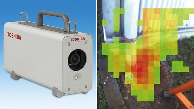 Toshiba's Gamma Camera Reveals Harmful Radiation