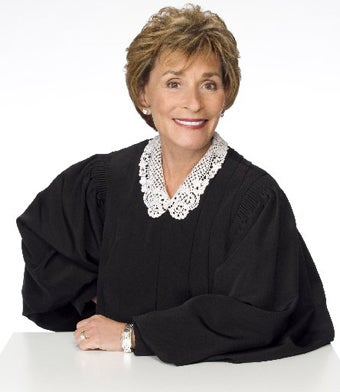 Judge Judy Says She's Not A Feminist