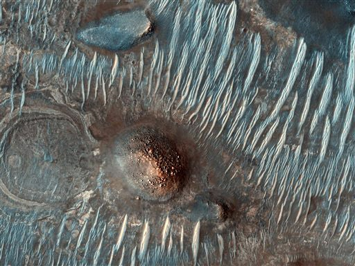 Flying Into The Gaping Maw Of Mars
