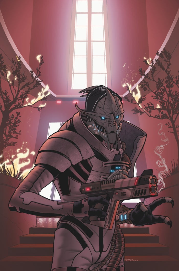 Here's exclusive artwork for the upcoming Mass Effect comic book