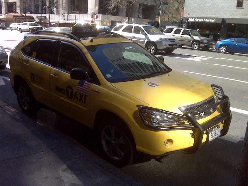 Lexus RX400h: One-Of-A-Kind NYC Taxi Edition