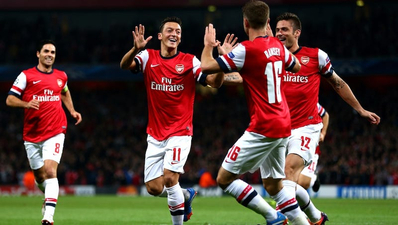 Once Sad Posers, Arsenal Are Playing Like England's Best Team