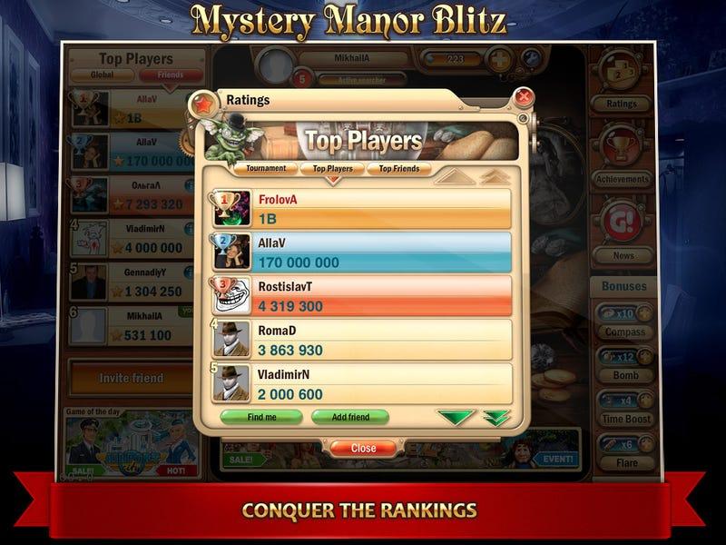 Mystery Manor Blitzes Its Way to the iPad