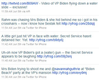 Is It 'Ethical' For Reporters To Play with Water Guns At Joe Biden's Mansion?