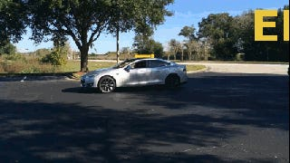 Tesla Model S: Electric Car, Burnout Machine