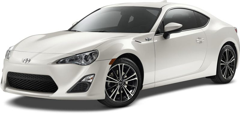 The 2015 Scion FR-S 'Improves Dynamics' But Looks Exactly The Same