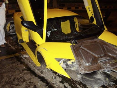 This Lamborghini Murcielago LP640 Is The Most Expensive Crash Ever... In India