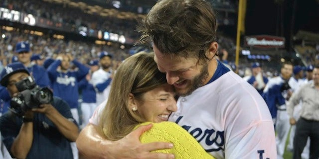 Ellen Kershaw's Reaction To Her Husband's No-Hitter Was Great