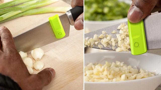 """Este """"rebañador"""" de cuchillos es el mejor pequeño-gran invento del día"""