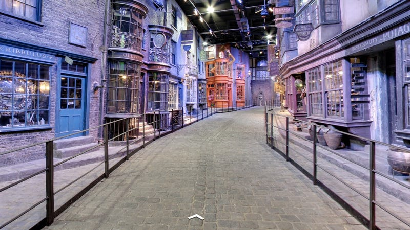 You Can Explore Harry Potter's Diagon Alley on Street View Now